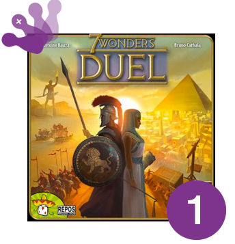SGA 2015 - Winner - 7 Wonders : Duel